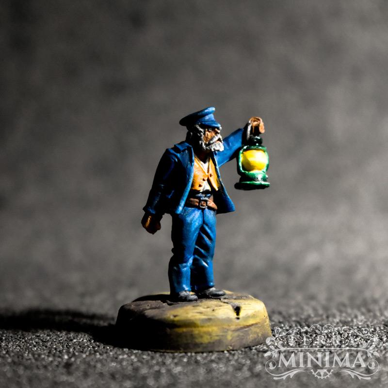 Pulp Miniature painted by TerraMinima